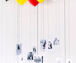 balloons, diy, and photo image