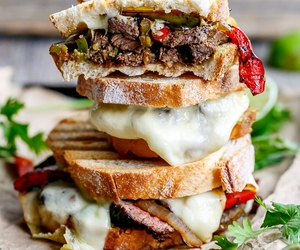 sandwich, delicious, and food image