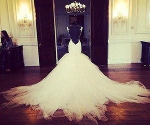 wedding dress and most important day image