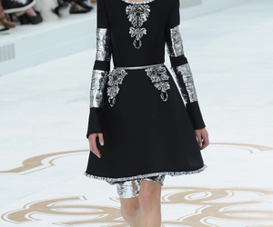 chanel, Couture, and dress image