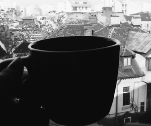 alone, cup, and Houses image