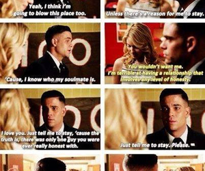 glee, mark salling, and quinn fabray image