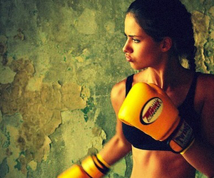 boxing, work out, and fitness image