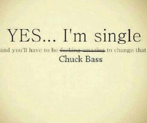 chuck bass, single, and gossip girl image