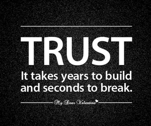 quote, trust, and people image