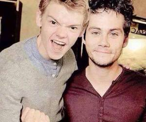 dylan o'brien, the maze runner, and newt image
