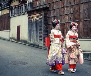 beautiful, geisha, and japan image