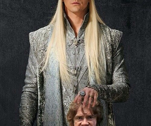 bilbo, the hobbit, and thranduil image