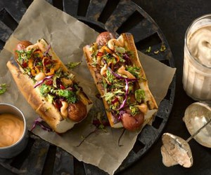 eat, hot dog, and food image