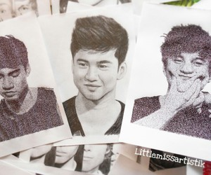 fanart, luke hemmings, and 5 seconds of summer image