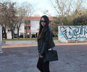 black, blog, and street fashion image