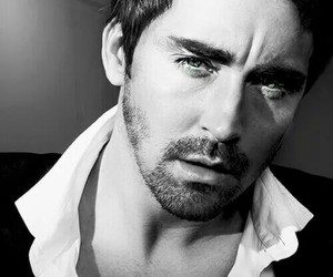 lee pace, sexy, and black and white image