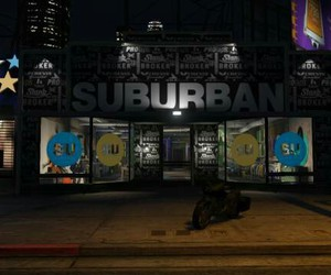 city, rockstar games, and suburban image