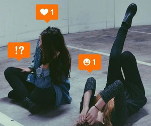 grunge, friends, and girls image