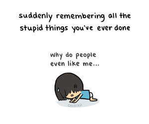 chibird, stupid, and quote image