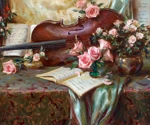 art and violin image