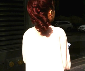 ariana grande, red, and arianagrande image