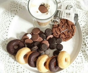 chocolate, Cookies, and donuts image