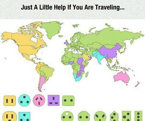 travel, world, and help image