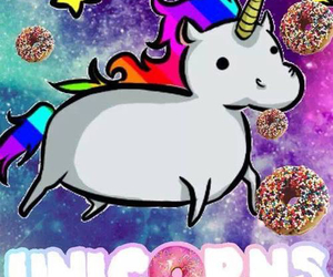 unicorn and donuts image