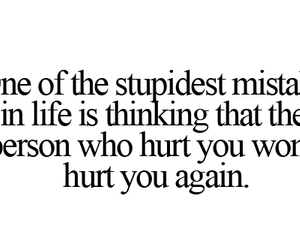 hurt, quotes, and mistakes image