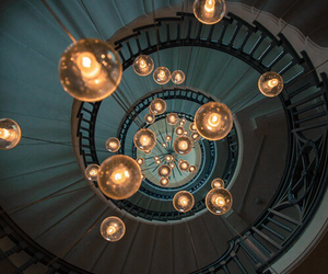 light, stairs, and photography image