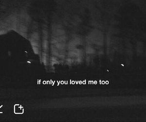love and dark image
