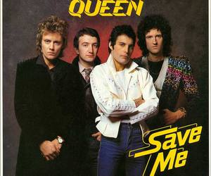 Queen, Freddie Mercury, and Save Me image