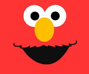 wallpaper, elmo, and red image