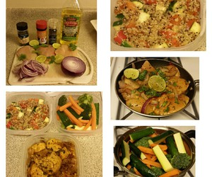 colors, food, and healthy image