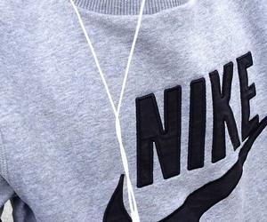 nike, black, and music image