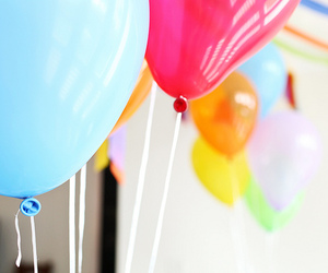 balloons and colorful image