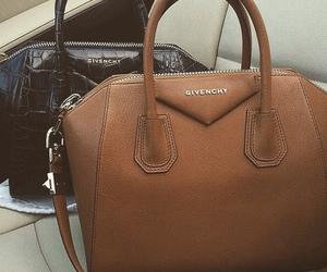 Givenchy, bag, and brown image