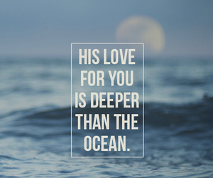 love, ocean, and quotes image