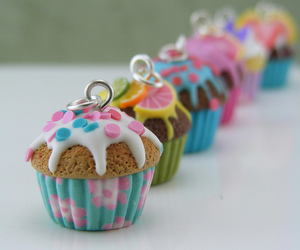 cupcake, clay, and polymer clay image