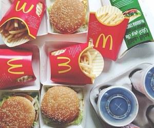 food, McDonalds, and yummy image