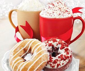 donuts, christmas, and food image