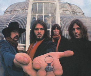 Pink Floyd, roger waters, and richard wright image