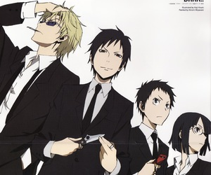 durarara, anime, and drrr image
