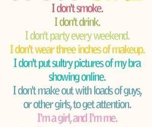 girl, quotes, and smoke image