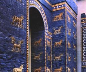 iraq, Babylon, and lions image