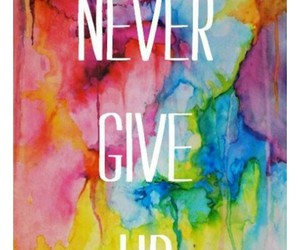 wallpaper and nevergiveup image