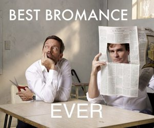 bromance, gregory house, and house md image