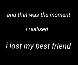lost and my best friend image