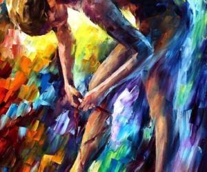 art, ballerina, and ballet image