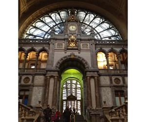 antwerp, station, and architecture image