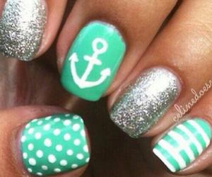 nails, anchor, and green image