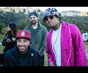 breezy, chris brown, and dope image