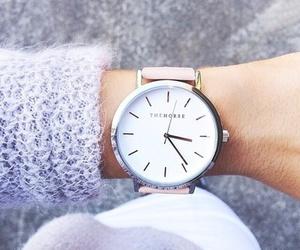 beauty, fashion, and clock image