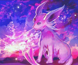 pokemon and espeon image